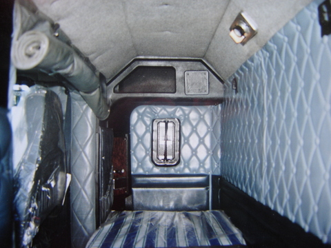 Kenworth Sleeper Interior http://blackdiamondindustries.net/choppedcustomsleeperexp.html